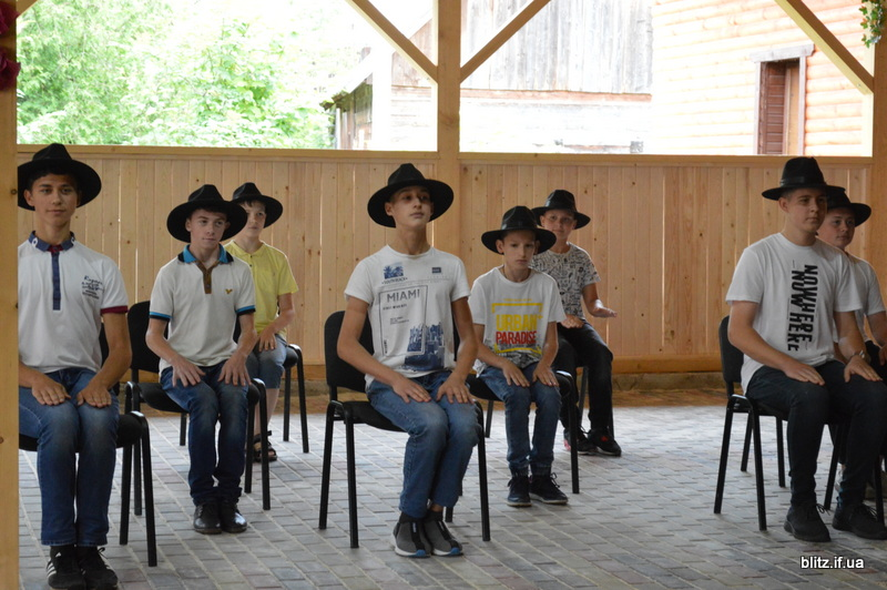 На Прикарпатті відкрився новий табір – першими відпочивають діти учасників АТО 18