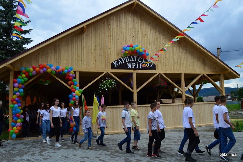На Прикарпатті відкрився новий табір – першими відпочивають діти учасників АТО 2