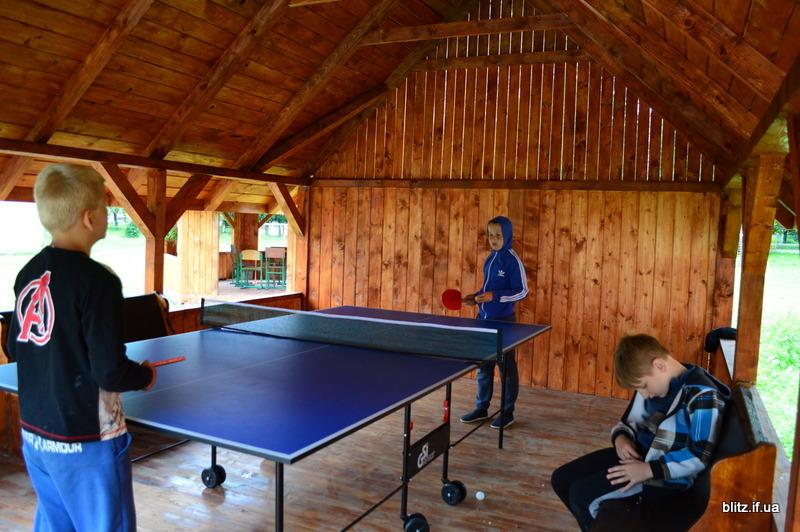 На Прикарпатті відкрився новий табір – першими відпочивають діти учасників АТО 24