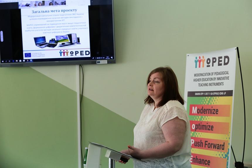 Міністр освіти і науки Лілія Гриневич взяла участь у відкритті Центру інноваційних освітніх технологій у Франківську 2
