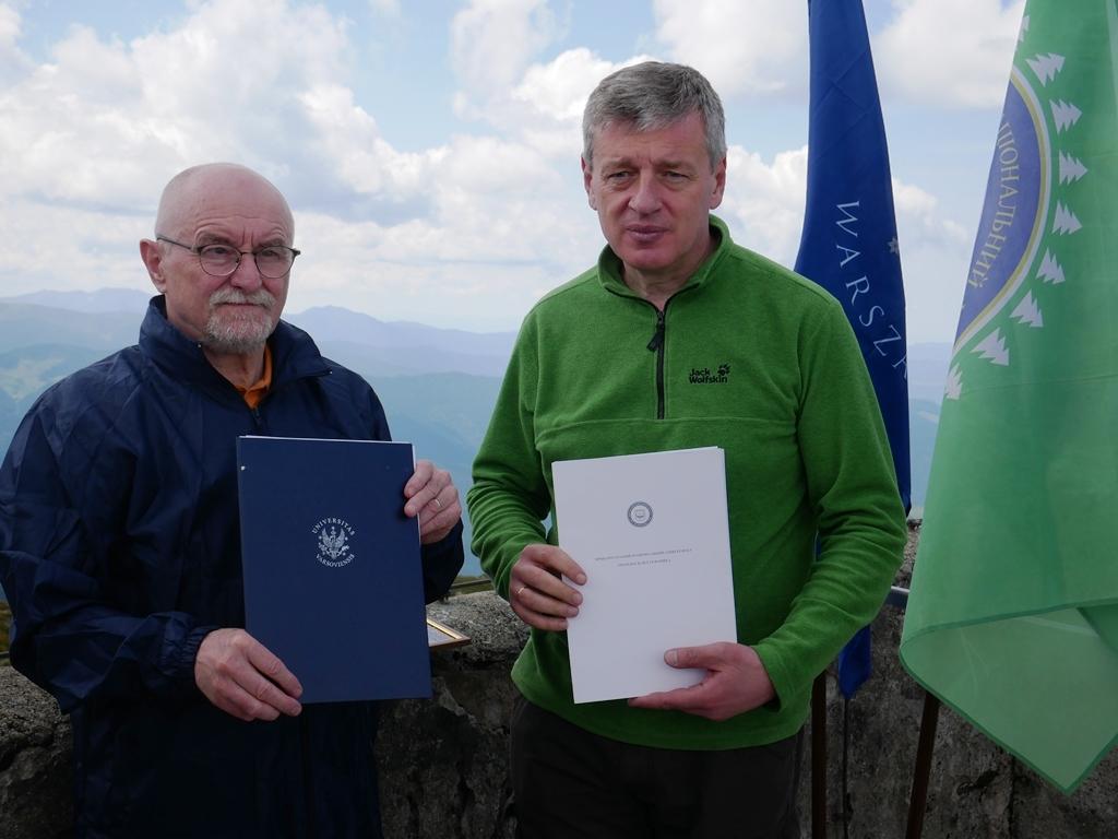 На даху обсерваторії на горі Піп Іван встановили смарт датчик погоди, який аналізуватиме клімат 1