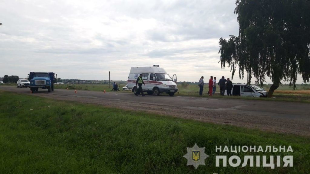 На Франківщині немовля та ще троє осіб постраждали через невдалий обгін 1