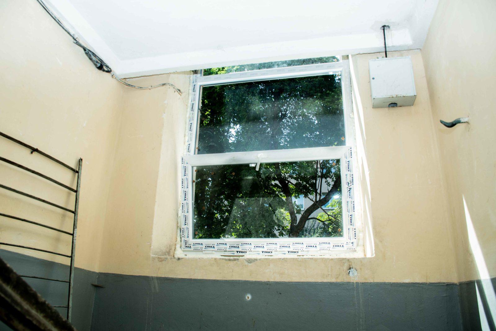 У трьох багатоквартирних будинках у Франківську замінюють вікна за програмою співфінансування 8