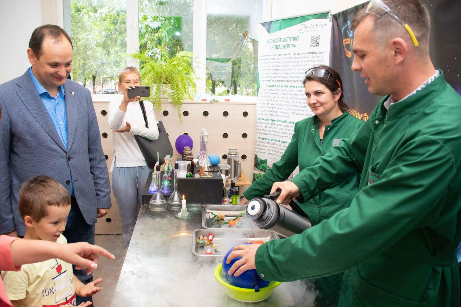 """У Франківську на місці колишньої """"Молочної кухні"""" відкрили Центр освітніх інновацій 18"""