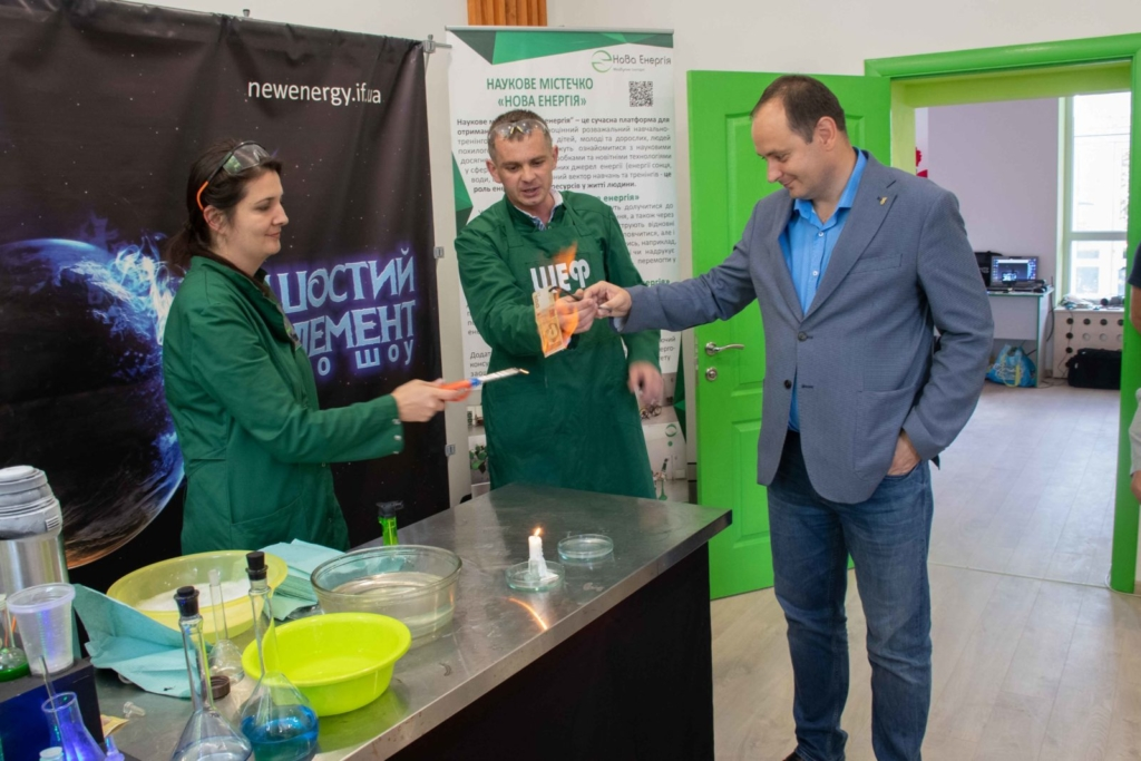 """У Франківську на місці колишньої """"Молочної кухні"""" відкрили Центр освітніх інновацій 11"""