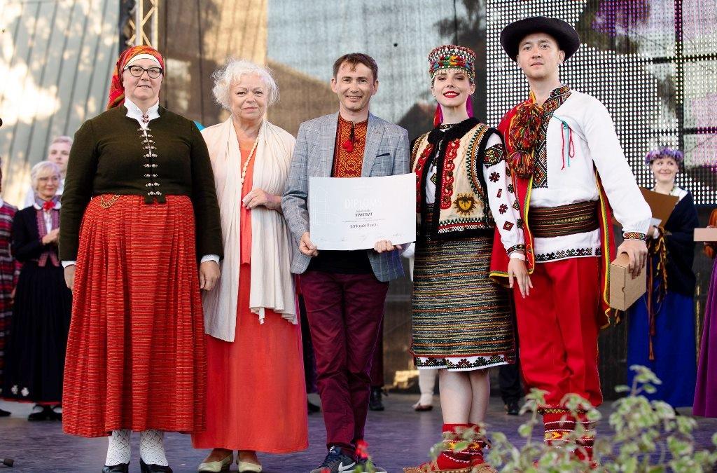 Ансамбль з Прикарпаття став призером Міжнародного фестивалю народного танцю 1