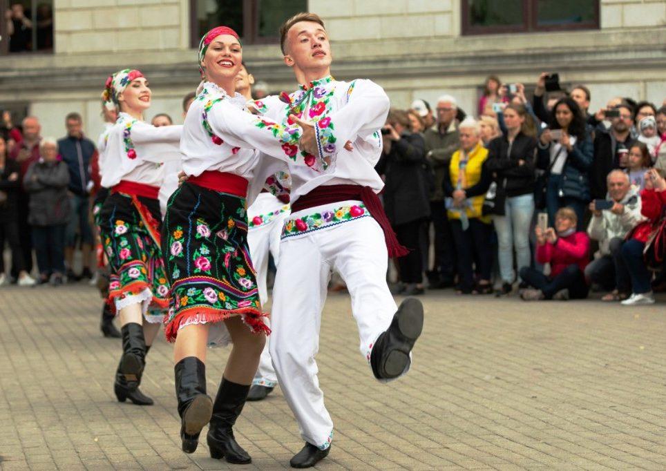 Ансамбль з Прикарпаття став призером Міжнародного фестивалю народного танцю 3