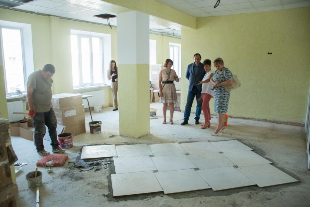 У дитячій лікарні Франківська завершують ремонт інфекційного відділення 1