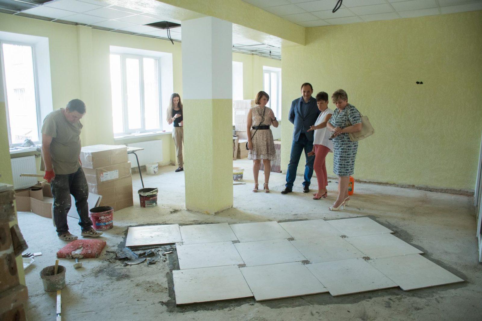 У дитячій лікарні Франківська завершують ремонт інфекційного відділення 2