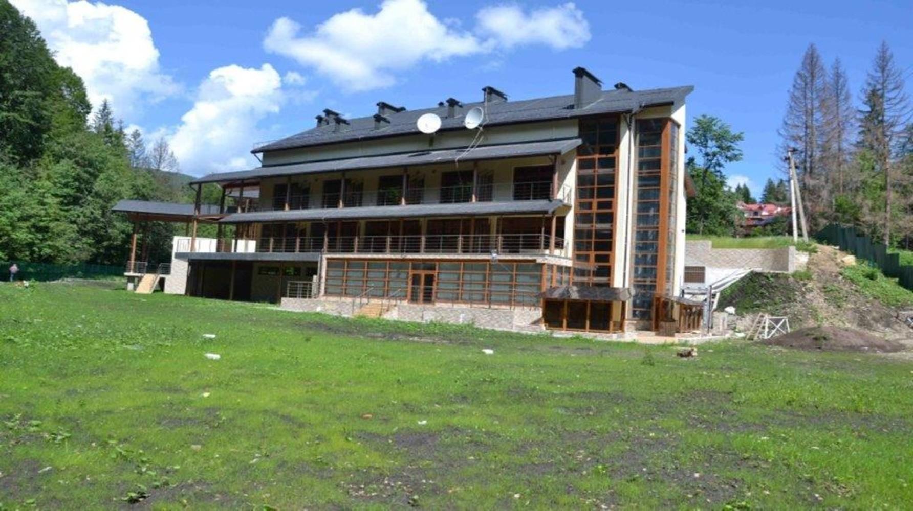 Оздоровчий комплекс Нацбанку в Яремче вдруге виставили на продаж