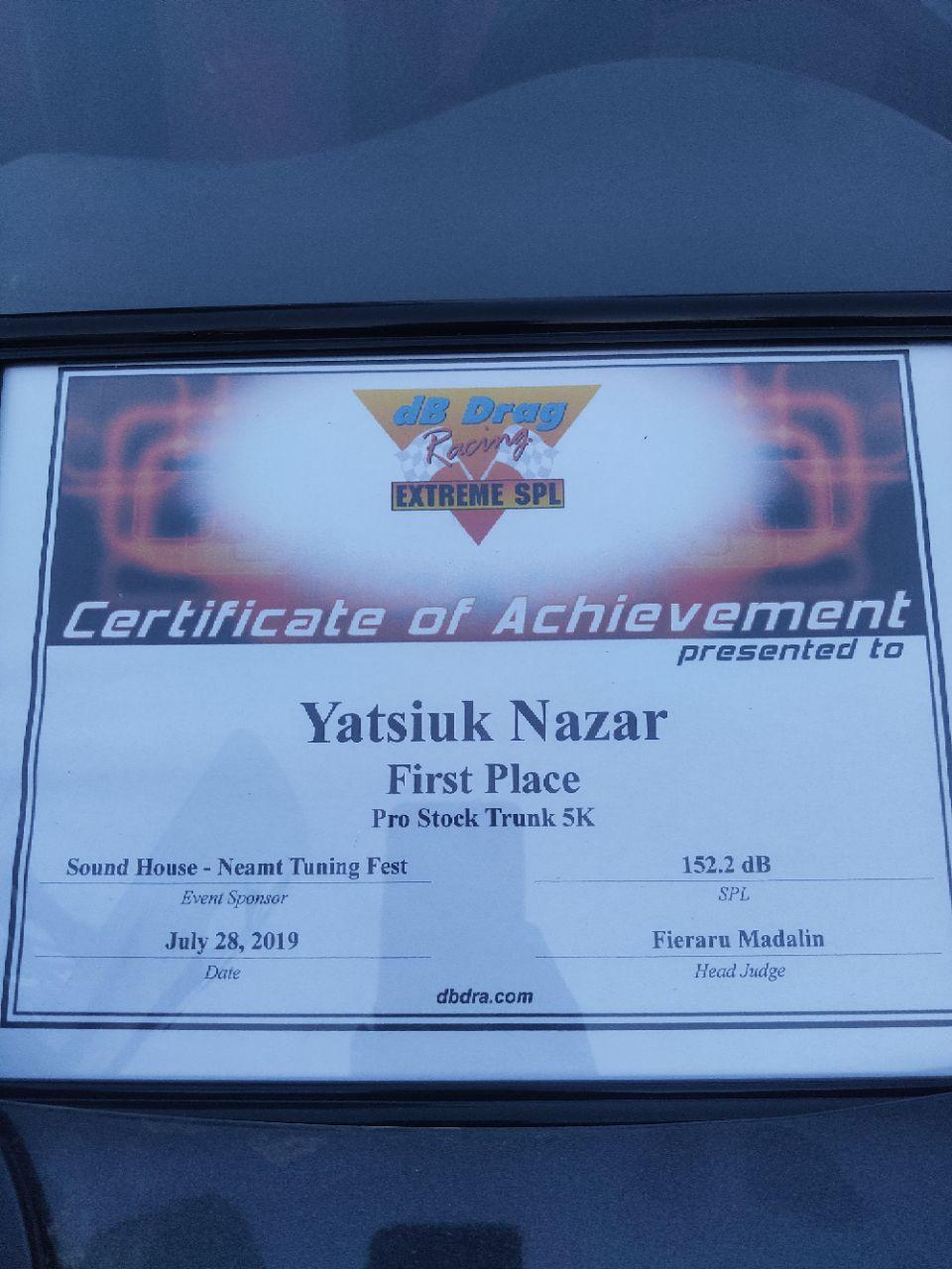 Франківець переміг на міжнародних змаганнях з автозвуку 8