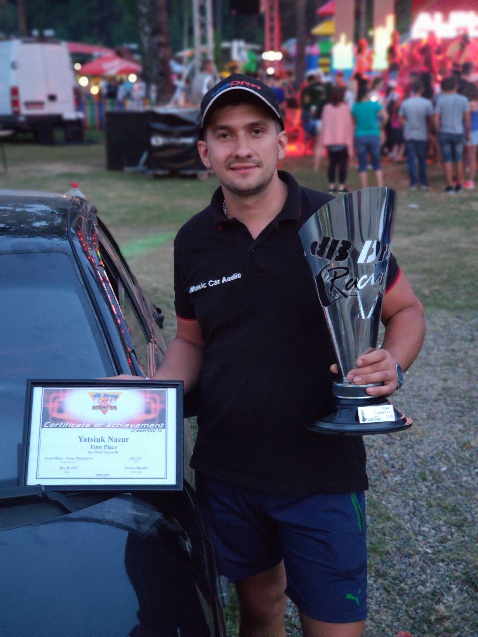 Франківець переміг на міжнародних змаганнях з автозвуку 10
