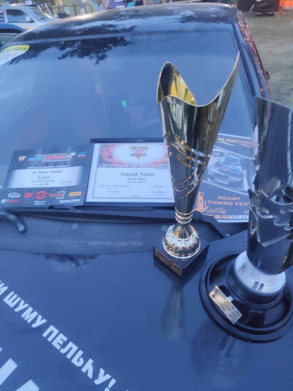 Франківець переміг на міжнародних змаганнях з автозвуку 6