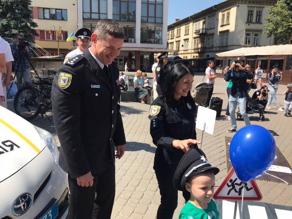 У Франківську святкують День Національної поліції 2