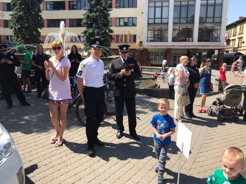 У Франківську святкують День Національної поліції 8