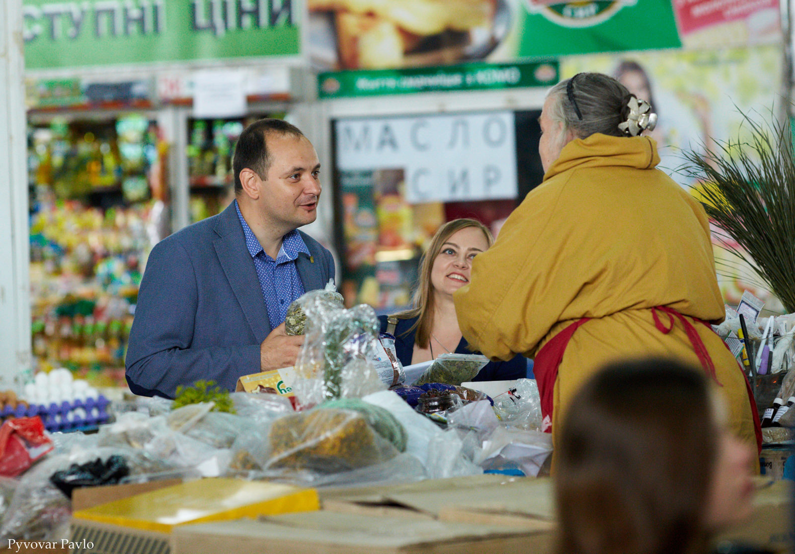 Продавці центрального ринку Франківська поскаржились меру на умови праці 6