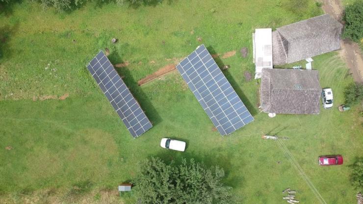 Сонячну електростанцію для дому потужністю 30 кВт встановлено в селі Баня-Березів 4