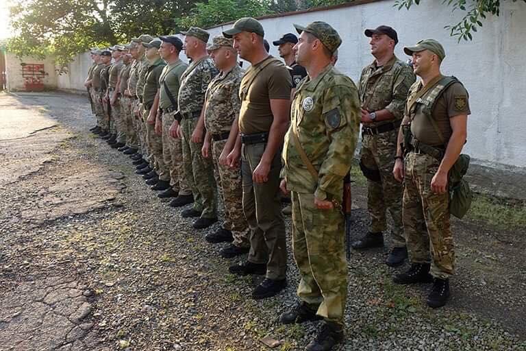 Загін прикарпатських поліцейських повернувся із зони проведення ООС 2