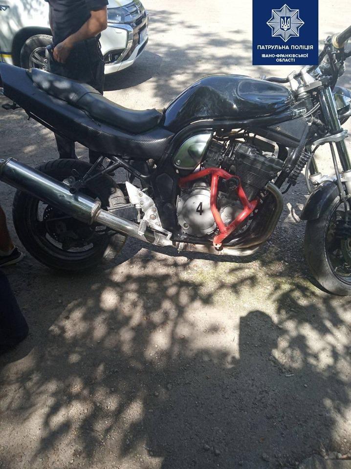 У Франківську спіймали мотоцикліста з 5 проміле алкоголю 2