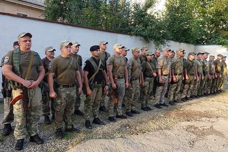 Загін прикарпатських поліцейських повернувся із зони проведення ООС 1