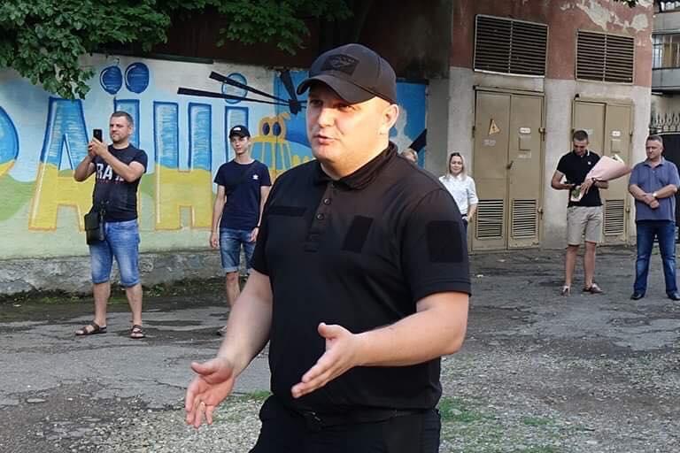 Загін прикарпатських поліцейських повернувся із зони проведення ООС 3
