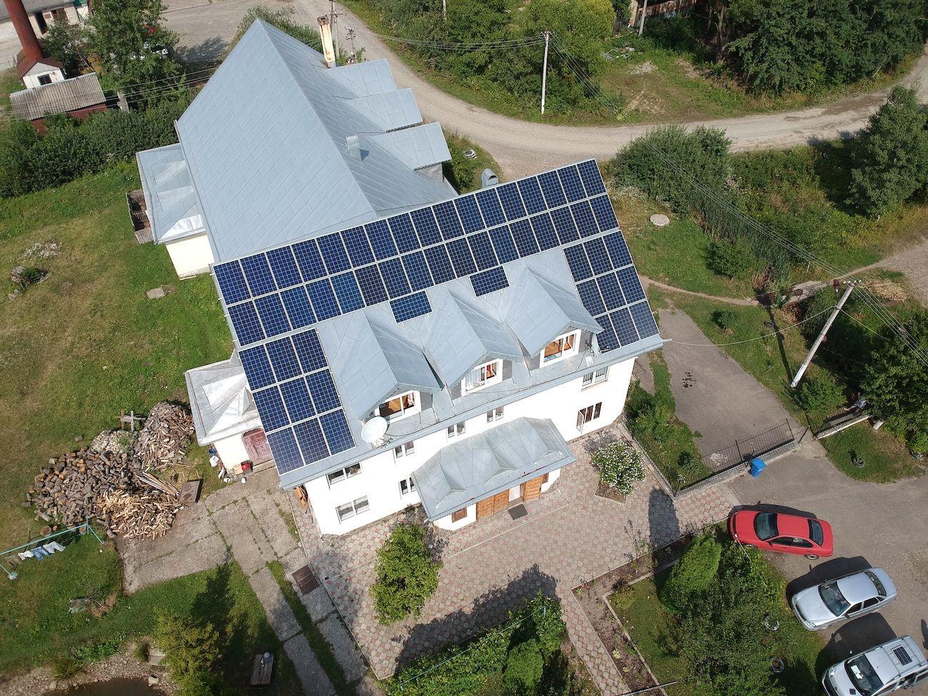 Сонячну електростанцію для дому потужністю 15 кВт встановлено в Коломиї 2
