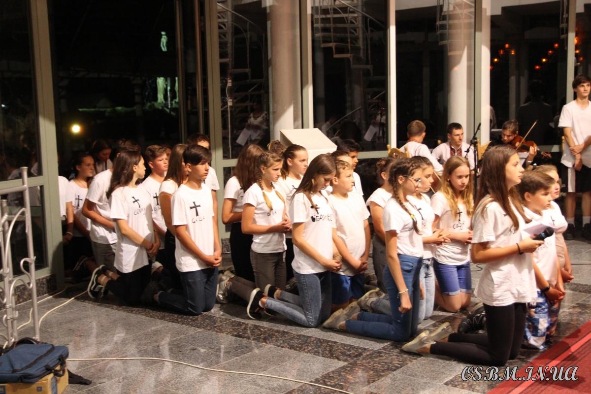 У Гошеві завершилася молодіжна піша проща 6