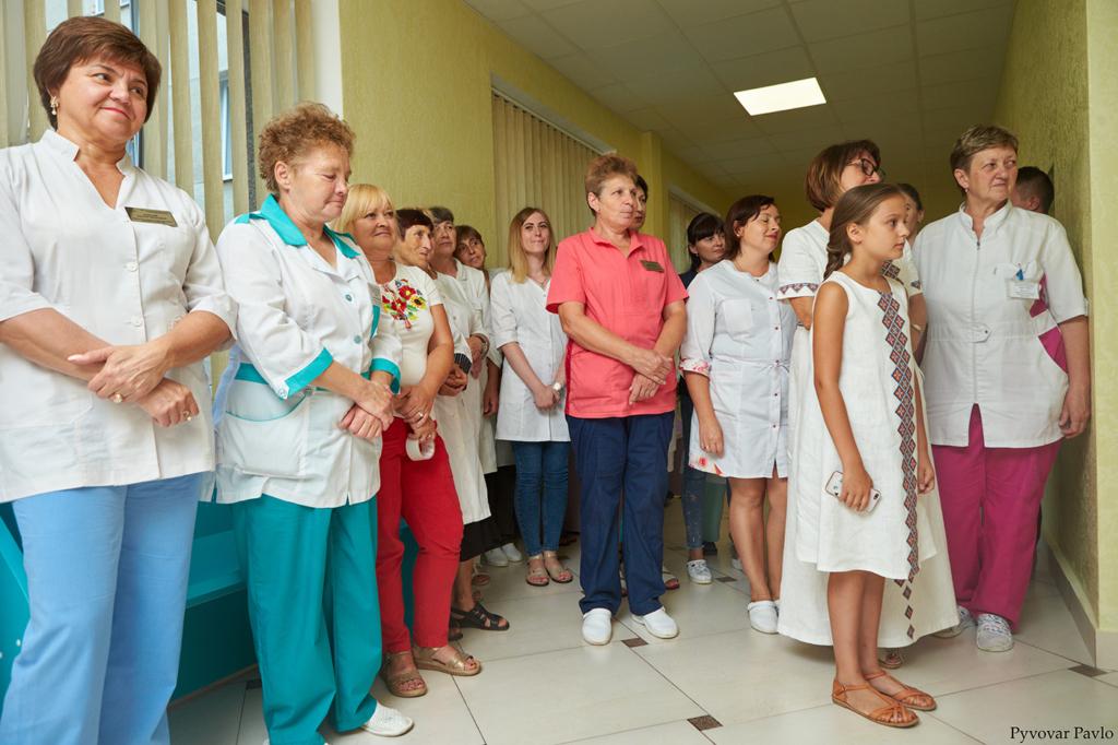 У Франківську відкрили оновлене інфекційне відділення дитячої лікарні 7