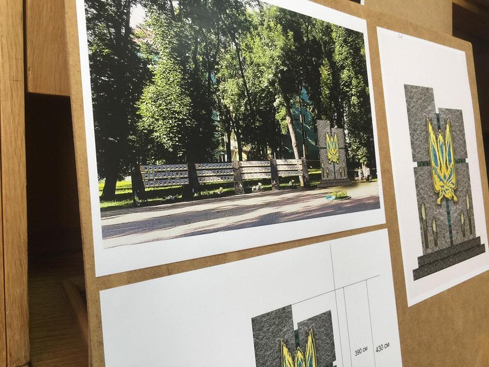 У Франківську не змогли визначитись з майбутнім пам'ятником загиблим героям АТО/ООС 6