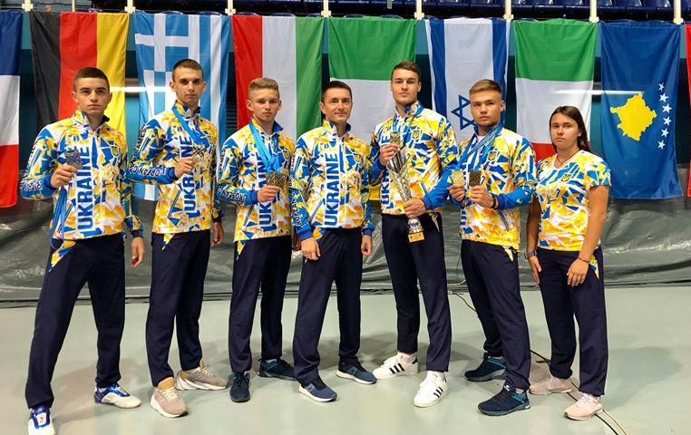 Франківські студенти здобули 7 медалей на чемпіонаті Європи з бойових мистецтв 2