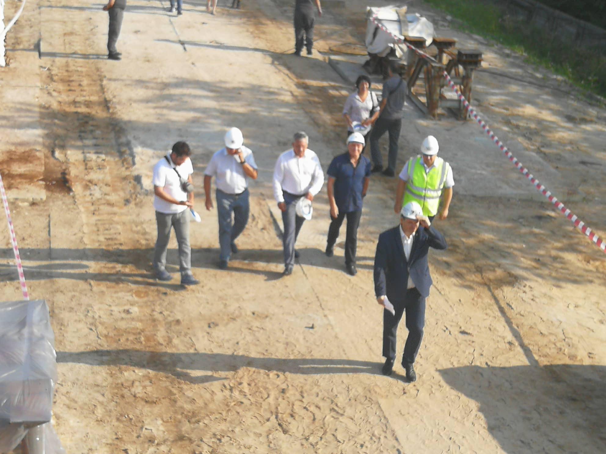 День відкритих дверей: Марцінків показав, як будується новий міст на Пасічну 5