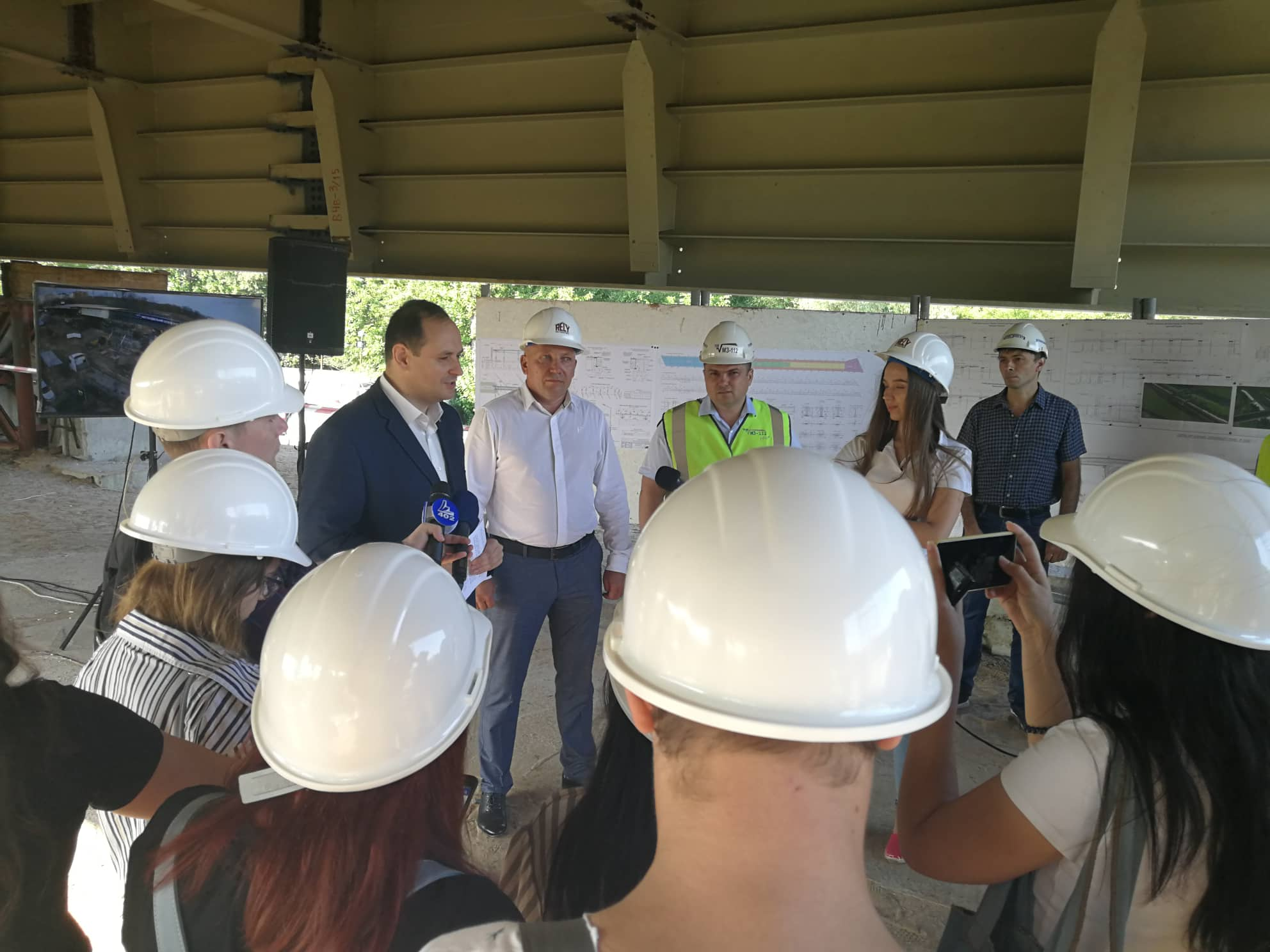 День відкритих дверей: Марцінків показав, як будується новий міст на Пасічну 3