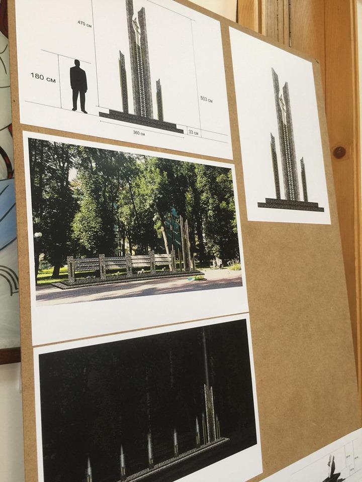 У Франківську не змогли визначитись з майбутнім пам'ятником загиблим героям АТО/ООС 12