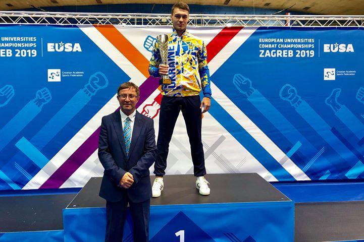 Франківські студенти здобули 7 медалей на чемпіонаті Європи з бойових мистецтв 6