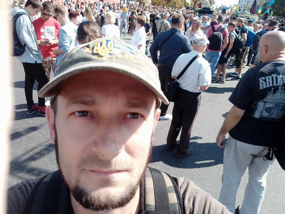 Києвом пройшов Марш захисників України - і в ньому франківці 12