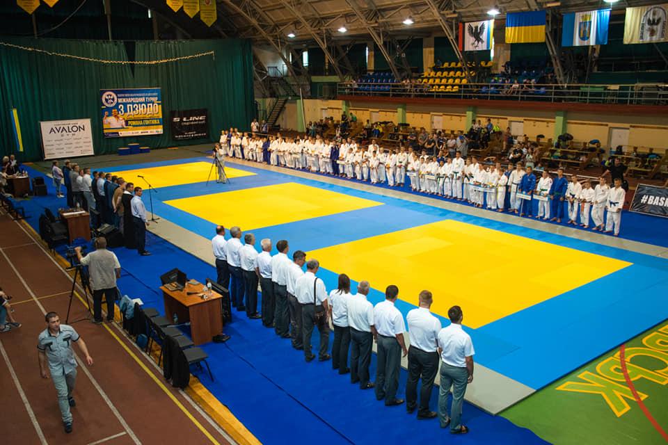 У Франківську проходить Міжнародний турнір з дзюдо для учасників до 14 років 2
