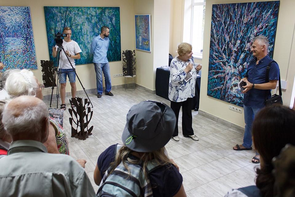 У Центрі сучасного мистецтва Франківська відкрили атмосферний артпроєкт Сергія Кірілова 9