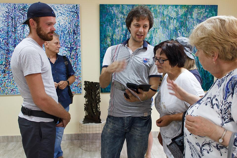 У Центрі сучасного мистецтва Франківська відкрили атмосферний артпроєкт Сергія Кірілова 7