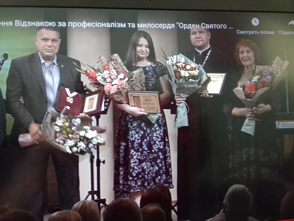 Франківський капелан отримав спеціальну відзнаку Медичного Оскара 6