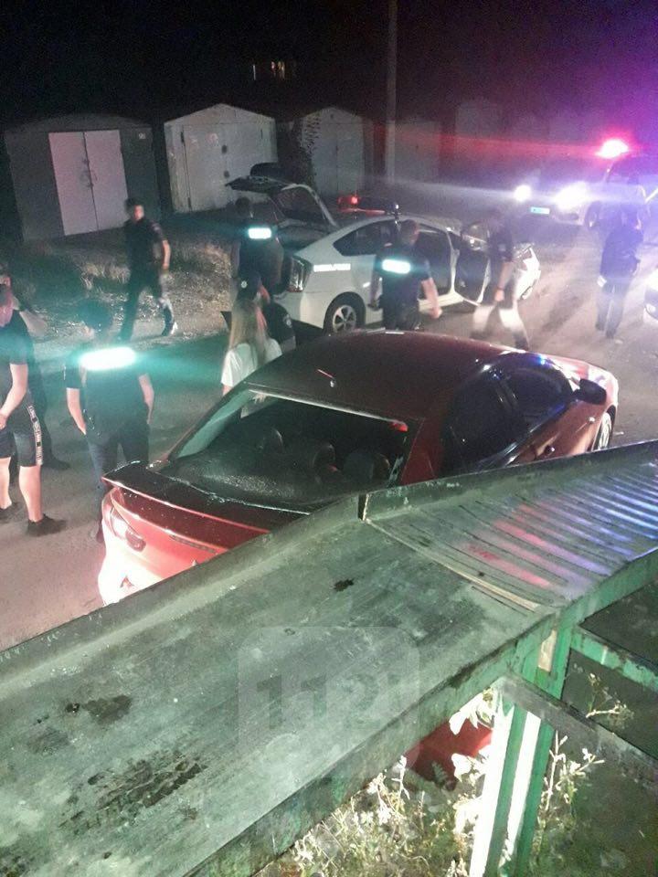 У Франківську в ДТП травмовані двоє патрульних – наздоганяли п'яного водія 2