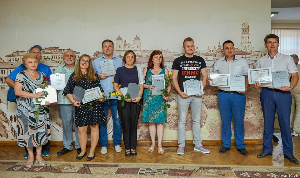У Франківську нагородили господарів найкращих двориків 2
