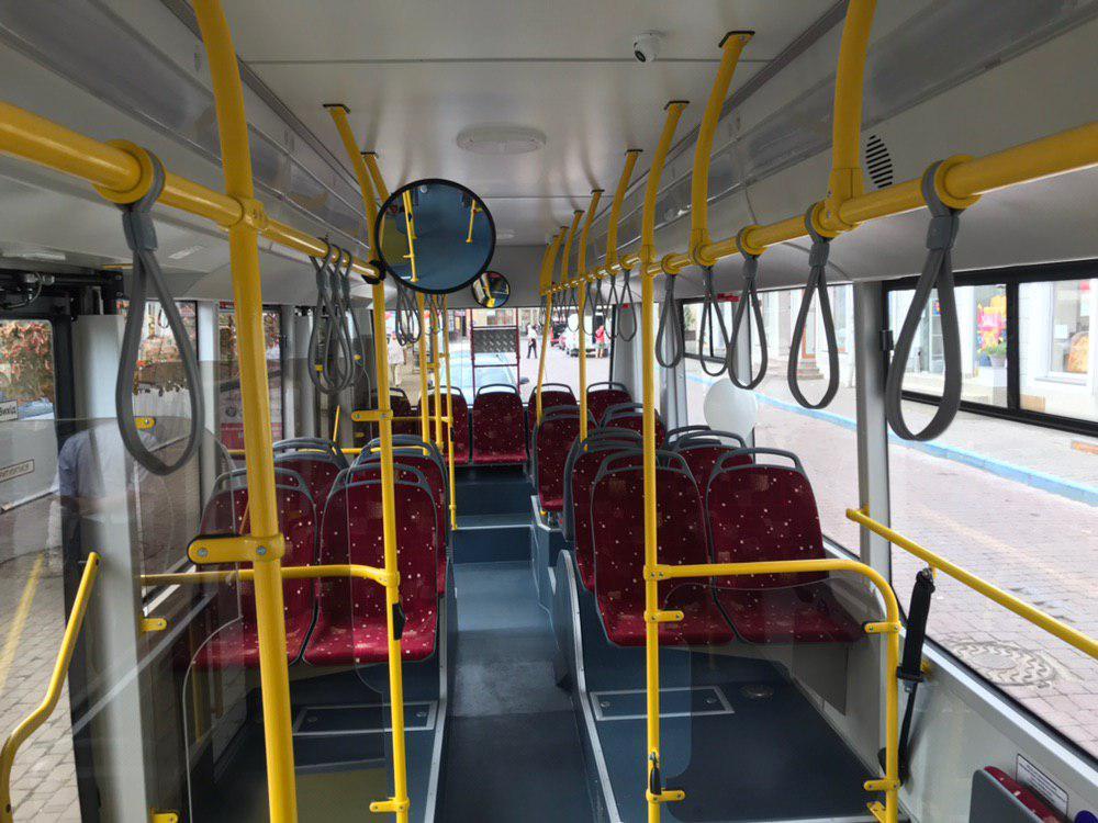 Франківцям показали білоруський тролейбус – таких у місті буде 29 4