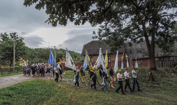 На Прикарпатті вшанували подружжя повстанців УПА, які загинули за Україну 1