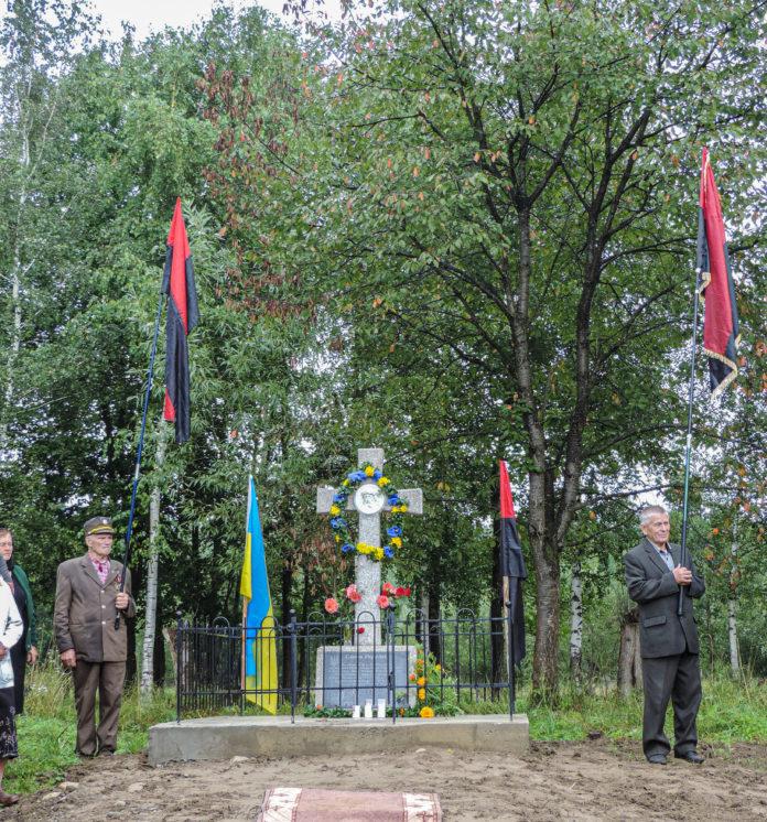 На Прикарпатті вшанували подружжя повстанців УПА, які загинули за Україну 2