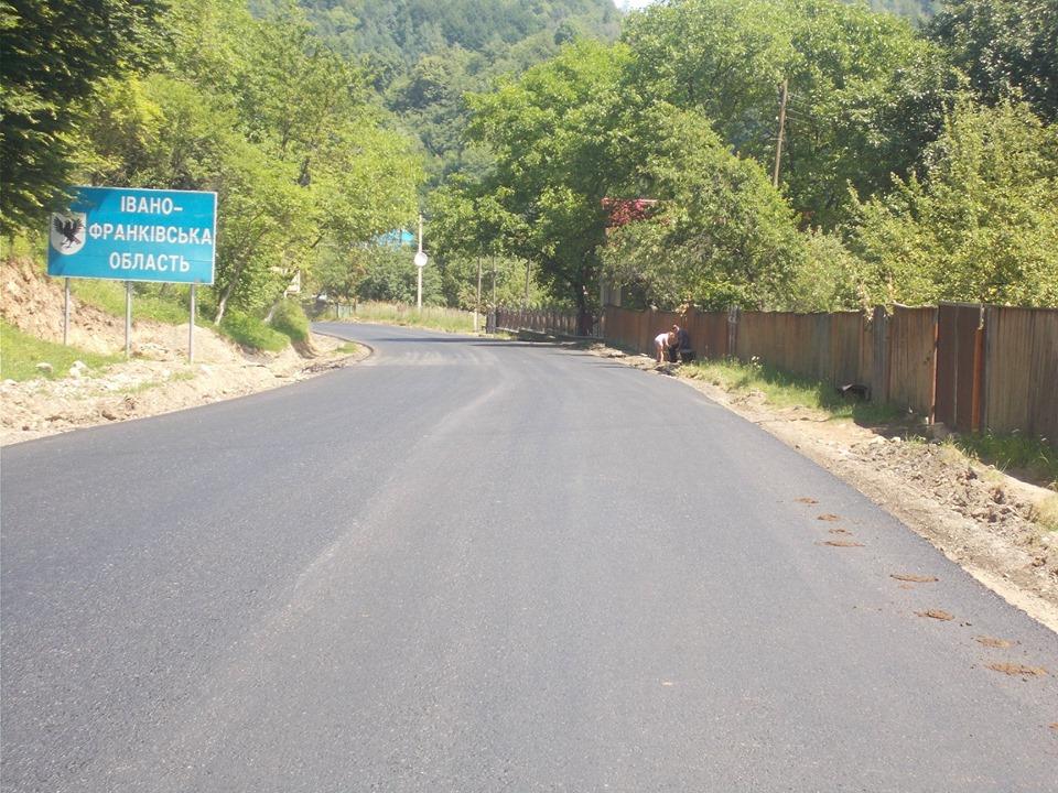 САД показала, як відремонтувала гірські автотраси на Франківщині 2