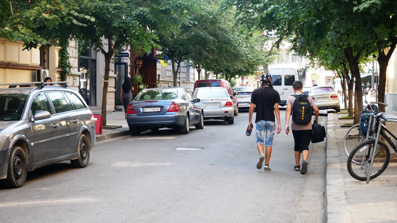 Вулиця Курбаса буде пішохідною, – Марцінків. 6
