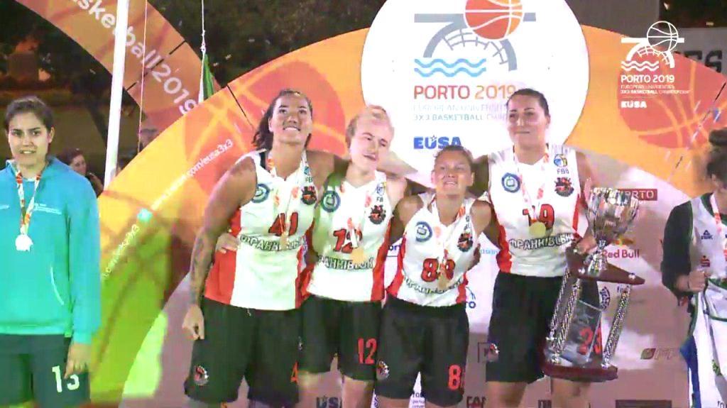 Баскетболістки ПНУ перемогли на Європейському чемпіонаті EUSA 2