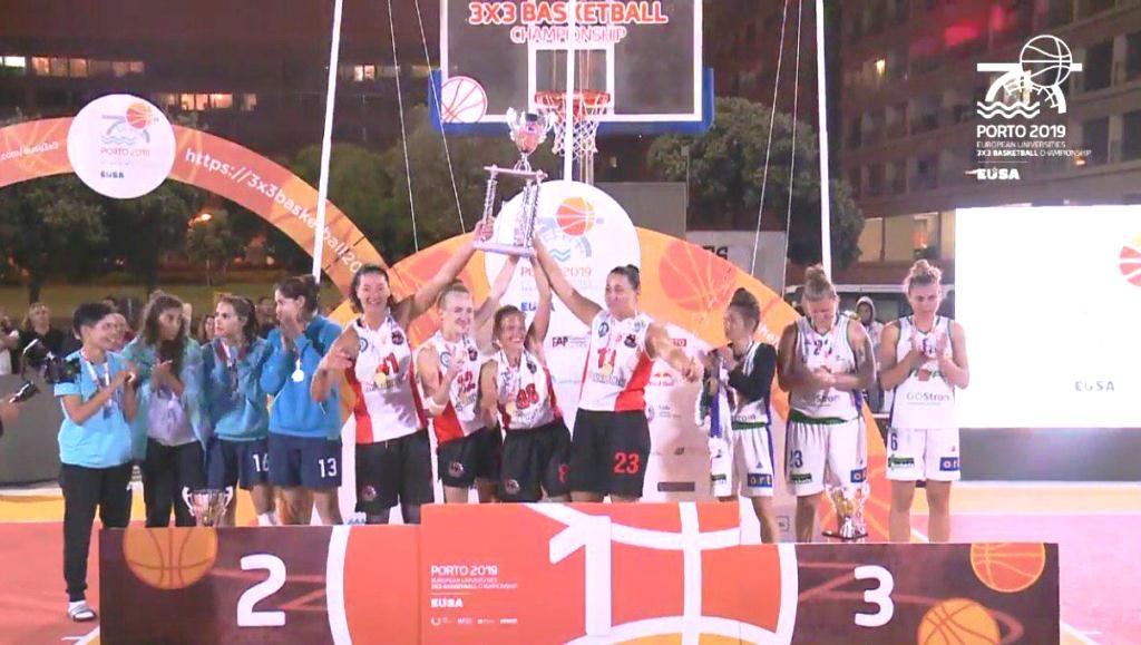 Баскетболістки ПНУ перемогли на Європейському чемпіонаті EUSA 4