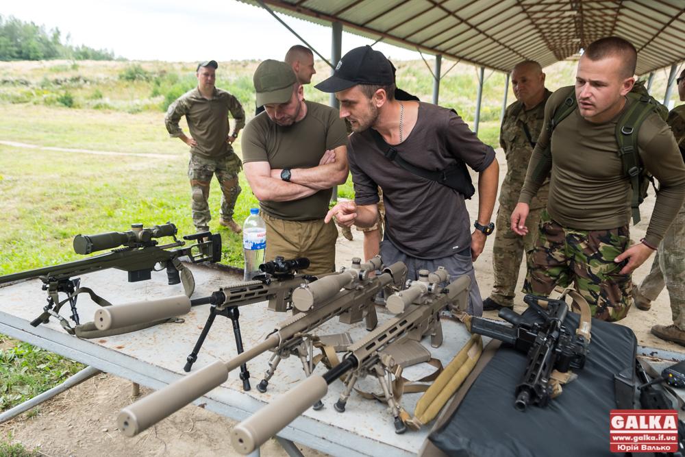 Прикарпатські ветерани АТО змагалися в снайпінгу 1