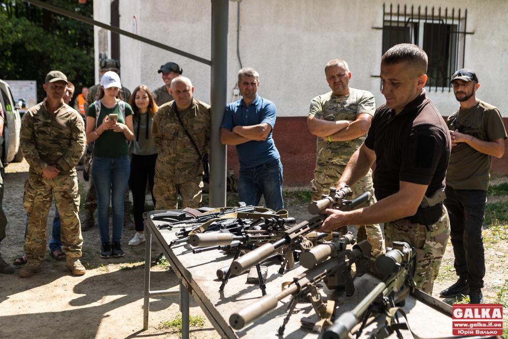 Прикарпатські ветерани АТО змагалися в снайпінгу 3